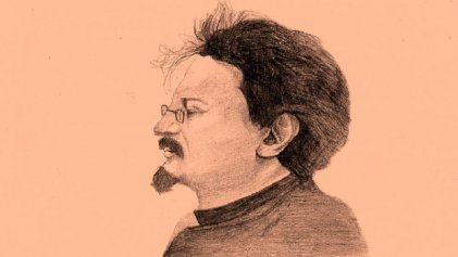 La virtud guerrera de Trotsky