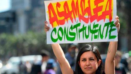 Plebiscito en Chile: sondeos muestran que el 76,8 % quiere una nueva Constitución
