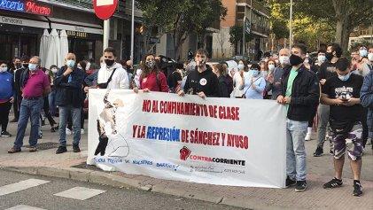 """Los barrios de Madrid se movilizan: """"Más hospitales y menos militares"""""""