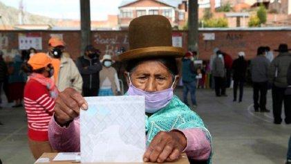 Elecciones en Bolivia: boca de urna da ganador al MAS en primera vuelta con 52,4 %
