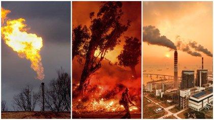 Concentración récord de CO2 en la atmósfera: el confinamiento no frenó la crisis climática