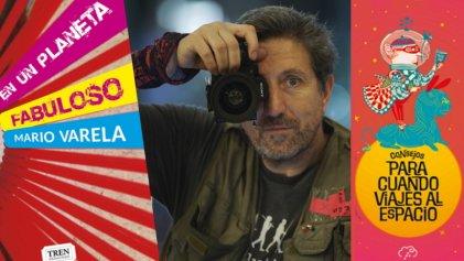 """Mario Varela: """"Trato de escapar a la moraleja o tutoría cuando escribo para las infancias"""""""