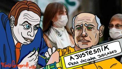 """Editorial gráfico: """"Ajustesnik V, la receta del FMI para mayores de 60"""""""