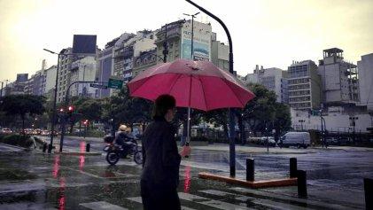 Alerta por tormenta con fuertes lluvias en CABA y parte de la Provincia de Buenos Aires