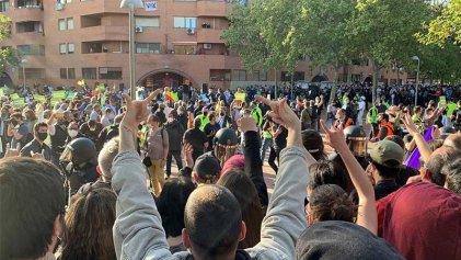 Fracasa un acto de la extrema derecha en Madrid luego de la movilización antifascista