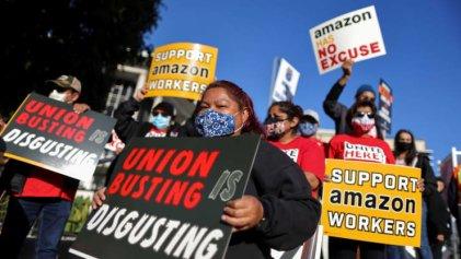 Amazon intimidó a trabajadores para que no voten por el sindicato, pero la lucha sigue