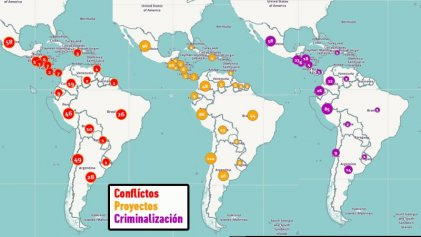 La minería entra con criminalización, represión y muerte en Latinoamérica y el Caribe