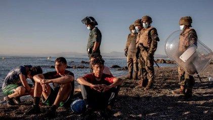 """Europa instala """"cañones de sonido"""" para ser usados contra los migrantes"""