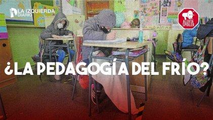 Pedagogía del frío: la infraestructura escolar como acto político a ambos lados de la Gral. Paz