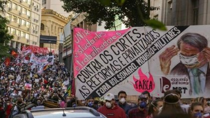 Sábado de protestas contra Bolsonaro: hay más de 400 movilizaciones convocadas