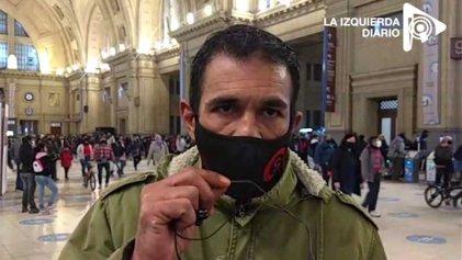 Ferroviarios despedidos por el ajuste macrista realizan huelga de hambre pidiendo que el gobierno los atienda