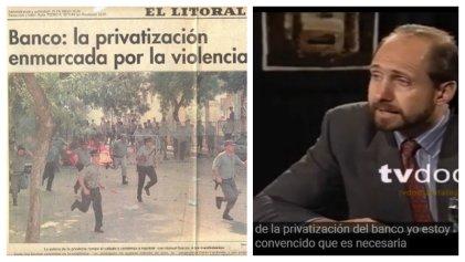 Prescribe la causa por la privatización del Banco de Santa Fe: un gran favor a Perotti