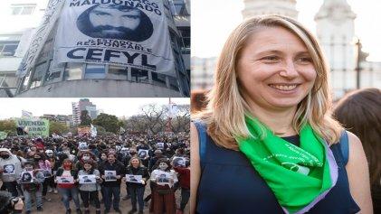 A la derecha ni cabida: el centro de estudiantes de Filosofía y Letras se solidarizó con Myriam Bregman