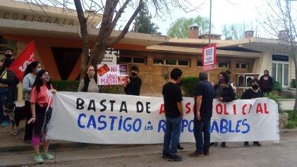 Familiares y organizaciones movilizaron contra la violencia policial en Centenario