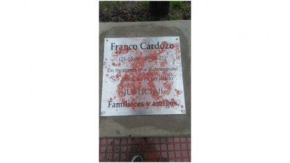 Continúan las provocaciones a la familia de Franco Cardozo por exigir justicia