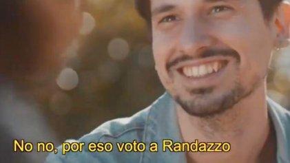 Randazzo intentó ser provocador con un spot homofóbico y fue repudiado en las redes