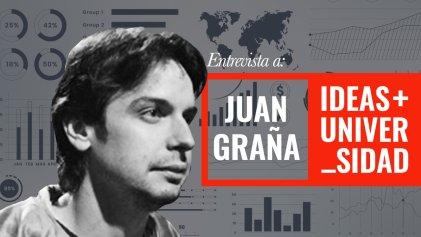 """Juan Graña: """"Los trabajadores argentinos no aumentaron su capacidad de consumo en casi 50 años"""""""