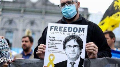 Liberaron a Puigdemont, el expresidente catalán, con obligación de permanecer en Cerdeña