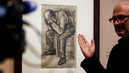 Se descubrió un dibujo inédito de Van Gogh