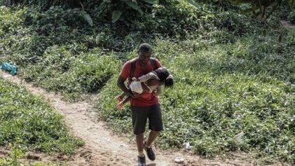Casi 20.000 menores migrantes cruzaron la peligrosa selva del Darién rumbo a EE. UU. en 2021