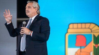 Alberto Fernández convocó a manifestaciones en plazas el próximo 17 de octubre