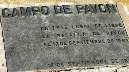 La batalla de Pavón