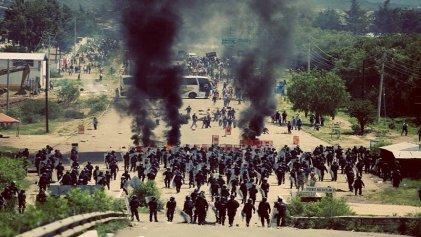 Alto a la represión asesina del gobierno contra el magisterio en lucha