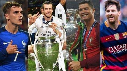 UEFA: ya están los diez candidatos a mejor jugador de Europa