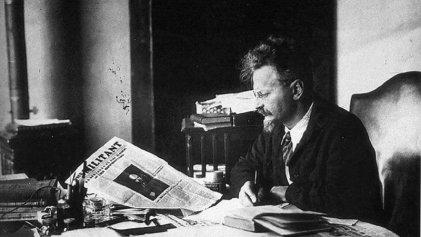 León Trotsky, el espectro de la revolución