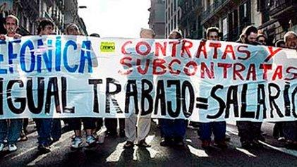 Huelga de contrata Cobra de Telefónica en Huelva