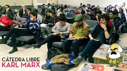 """Marx vuelve a las universidades y ya tiene una """"Cátedra Libre"""""""