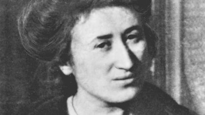 Rosa Luxemburgo, la rosa roja del socialismo