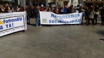 """Movilización en Zaragoza: """"No a la Europa Fortaleza, acogida ya"""""""