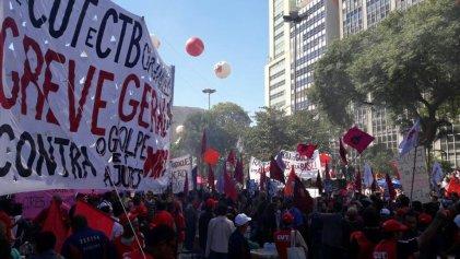 Los trabajadores de Brasil tienen muchas razones para hacer un gran paro nacional