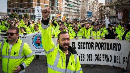 Estibadores, teleoperadoras, conductores de buses y trenes… ¿retorna la lucha obrera?