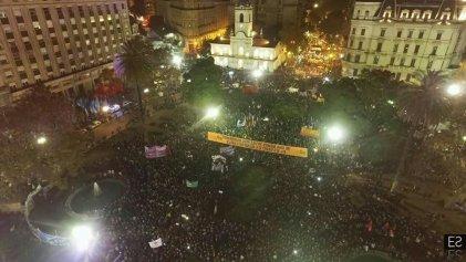 El grito de #NiUnaMenos volvió a ganar las calles