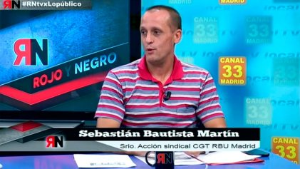 """Sebastián Bautista: """"los trabajadores no pueden tener distintas condiciones laborales y salariales"""""""