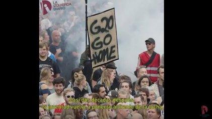 """[Video] """"Bienvenidos al infierno"""": miles se movilizan en Hamburgo contra el G20"""