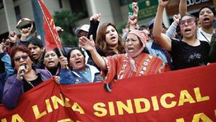 Perú: la lucha docente intensifica sus fuerzas