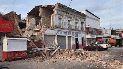 65 muertos hasta el sábado dejó el terremoto de 8.2