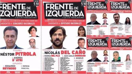 Legislativas 2017: conocé a los candidatos que acompañan a Nicolás del Caño en la segunda sección