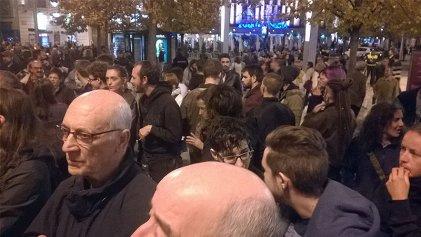 Zaragoza: contra el 155 y por el derecho a decidir del pueblo catalán