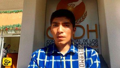 Violencia policial en Michoacán contra joven por ser homosexual
