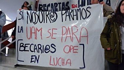 Primera jornada de huelga de becarios y becarias en la Universidad Autónoma de Madrid