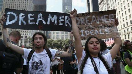 Nueva protesta de 'dreamers' en Capitolio contra medidas de Trump