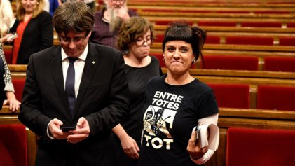 Las limitadas medidas en educación y violencia machista de la CUP para investir a Puigdemont