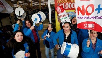 Finaliza la huelga de miles trabajadores de Walmart Chile tras acuerdo entre el sindicato y la empresa