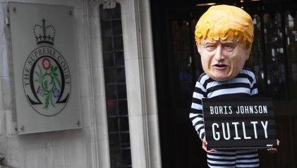 Mazazo para Boris Johnson: la Corte declara ilegal el cierre del Parlamento británico