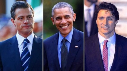 """Cumbre de Líderes de América del Norte: se firma acuerdo de """"energías limpias"""""""