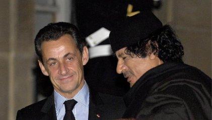 Sarkozy, bajo custodia policial por el supuesto financiamiento de Libia a su campaña electoral